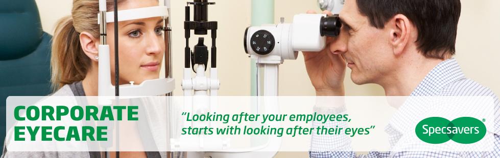 Corporate Eyecare homepage
