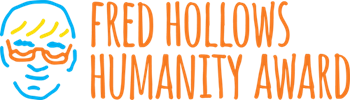 Fred Hollows Humanity Award Logo