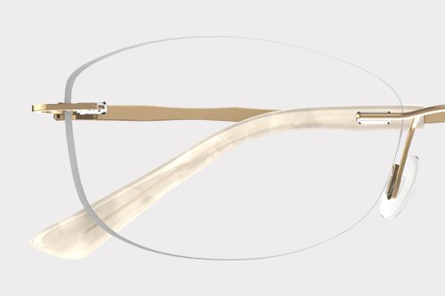 a04b07fcf1 Rimless Fineform Frames includes extra thin and light lenses